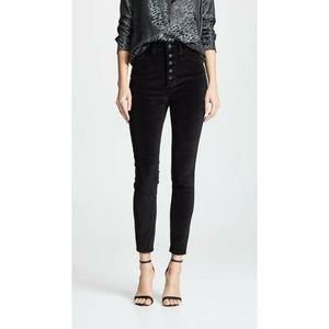 DL1961 Chrissy Velvet Jeans 26 High Rise Ankle